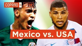 USMNT and El Tri Welcome Youth Movement   Walk Talk Football