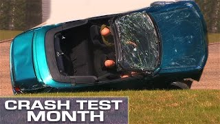 Crash Test Month: Flipping A Convertible