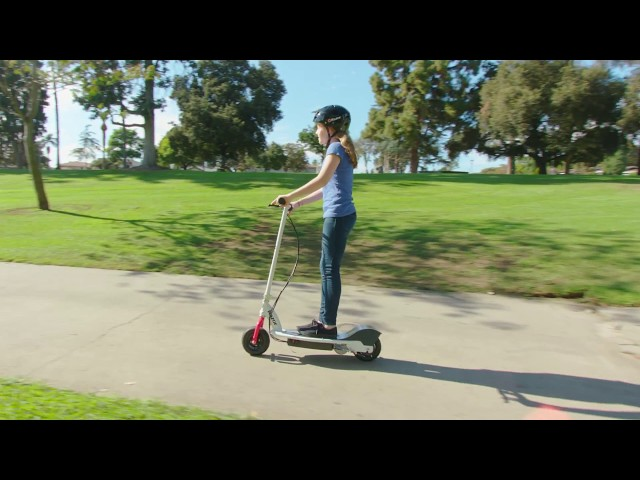 E200 Electric Scooter Ride Video