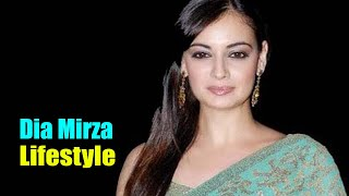 Dia Mirza - Lifestyle, Family, Height, Age, School, Boyfriend, Biography, Income, Birt Ay