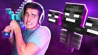 Denis Sucks At Minecraft - Episode 36 (FIGHTING THE WITHER BOSS!!)