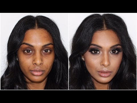 Khaki Smokey Eye WOC Makeup Tutorial ♡ Jasmine Hand