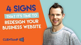 4 Signs That It's Time To Redesign Your Business Website