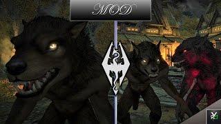 AMAZING WEREWOLF MOD!!- Xbox Modded Skyrim Showcase