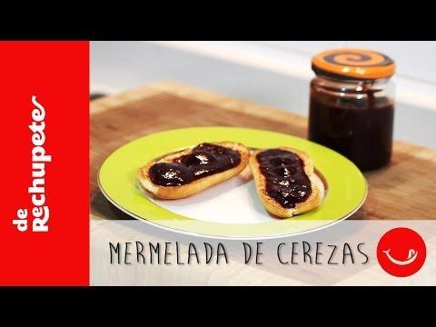 MERMELADA DE CEREZAS - Una receta rápida y fácil De rechupete