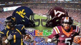 Virginia Tech vs West Virginia Hype 2017
