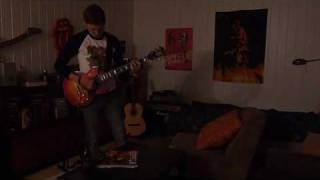 AC/DC cover - Cold Hearted Man on guitar