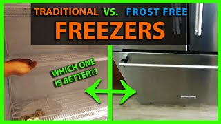 Frost Free Freezers Vs. Regular Upright Freezers - Pros & Cons & How They Work
