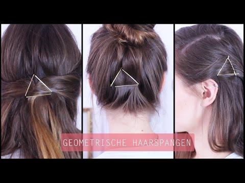 Haarspangen Geometrie - Haarschmuck | Frisuren Freitag | Lovethecosmetics