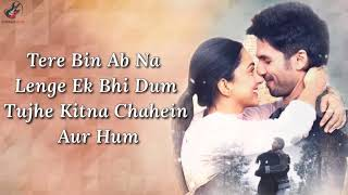 Tujhe Kitna Chahein Aur ( Film Version ) Lyrics   - YouTube