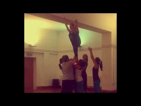 Cheerleading Stunts, Liberty, Extension, Twist Cradle, Split, Back Tuck, Show-n-go
