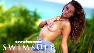 Barbara Palvin Goes Retro For Sexy Return To SI Swimsuit | Intimates | Sports Illustrated Swimsuit
