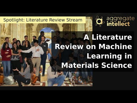 A Literature Review on Machine Learning in Materials Science