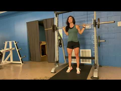 Smith Machine Calf Raise (toes out)