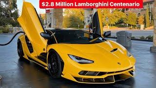MY FRIEND BUYS $2.8 MILLION LAMBORGHINI CENTENARIO AND SLAMS IT!