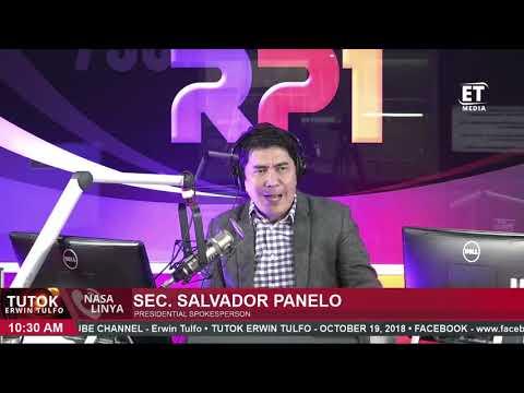 "[Erwin Tulfo]  SEC  SALVADOR PANELO | ""sa mga concerned genuinely or not wala kayong dapat alalahanin"""