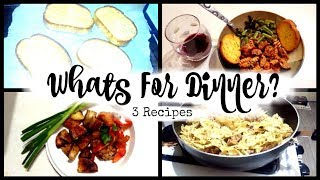 🌻WHAT'S FOR DINNER/COLLAB WITH JESS AND THE BOYS/COOK WITH ME 3 RECIPES