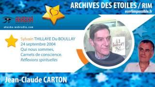 Sylvain du BOULLAY | Carnets de conscience | Archive RIM