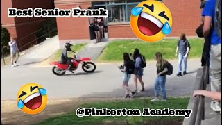 Pinkerton Academy's Finest Class of 2018 Senior prank - Presented by Nolan Faiella