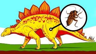 10 неизвестных и шокирующих фактов о динозаврах