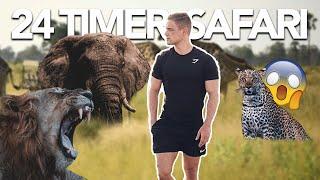 24 TIMER PÅ VILD SAFARI TUR I AFRIKA   MED MADS GOTTLIEB & JONAS DRØGER