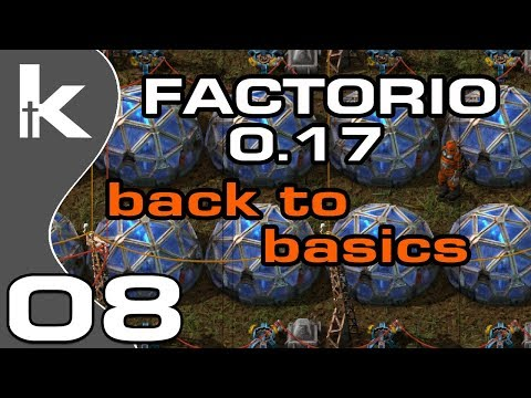 Factorio 0 17 | Back To Basics Ep 7 | Bringing the Mall Online