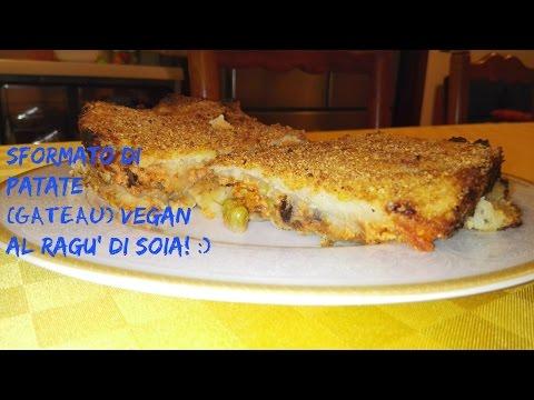 , title : 'Sformato di Patate (Gateau) VEGAN con Ragu' di Soia! |RicetteFelici