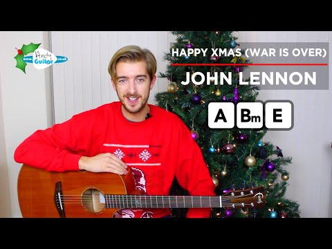 Happy Xmas (War Is Over) Guitar Lesson CHORDS - John Lennon