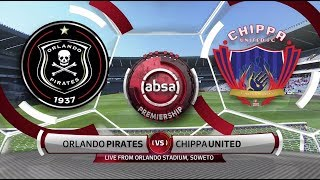 Highlights of the match between Orlando Pirates and Chippa United  from Orlando Stadium,Soweto