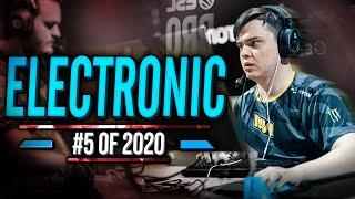 electronic - STILL OVERSHADOWED? - HLTV.org's #5 Of 2020 (CS:GO)