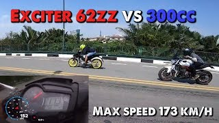 Sự Thật khi Exciter 62zz gõ Moto 300cc - Kết quả kịch tính đến phút chót | MinC Motovlog