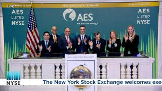 The AES Corporation Rings the NYSE Closing Bell
