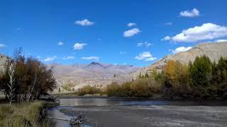 Горный Алтай, вид на Курайский хребет