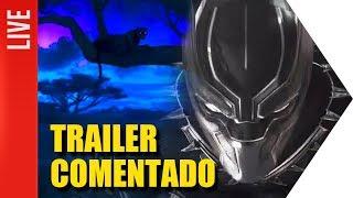Pantera Negra: Trailer Comentado |  OmeleTV AO VIVO