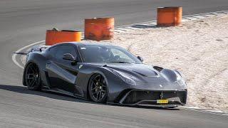 Supercar Sunday Trackday Zandvoort: Ferrari F12 N-Largo, Aventador SVJ, Audi R8 V10 ABT, 812 SF etc