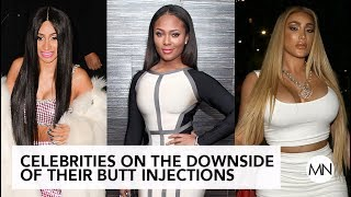 Celebrities On The Downside Of Their Butt Injections