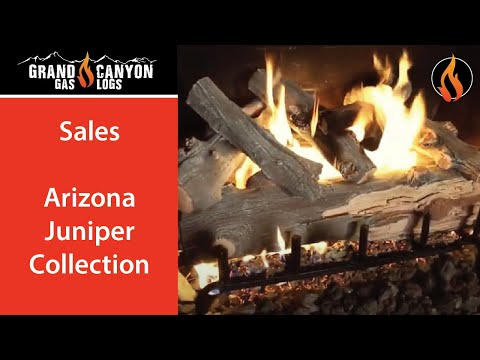 Grand Canyon Gas Logs - Arizona Juniper Collection