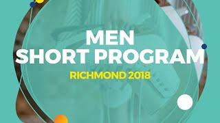 Matvei Vetlugin (RUS)   Men Short Program   Richmond 2018