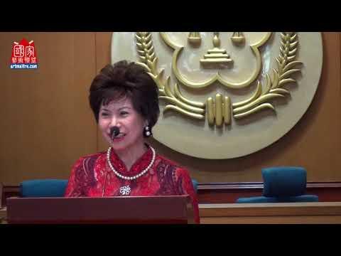 2020年東亞彩墨生輝會員聯展 東亞藝術研究會理事長 王美美致詞