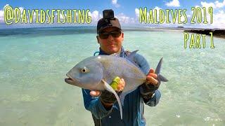 Bluefin Trevally Fly Fishing Maldives 2019