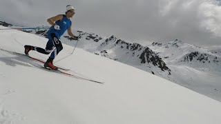 David Norris has Extreme Skill on Cross-Country Skis