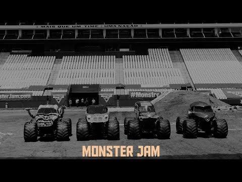 Amanhã? tem Monster Jam!