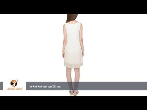 s.Oliver Damen Kleid mit Farbverlauf, Knielang, Einfarbig   Erfahrungsbericht/Review/Test