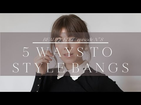 5 Ways To Style Bangs | Episode No. 8 Mp3
