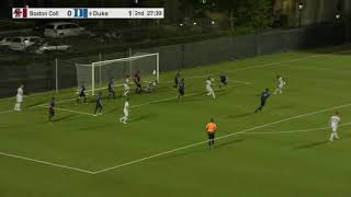 Men's Soccer: Duke Highlights (Sept. 21, 2018)
