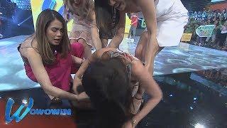 Wowowin: 'Sexy Hipon' Herlene, nahilo at sumalubsob sa sahig! (with English subtitles)