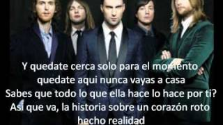 Maroon 5-Story SUBTITULADA ESPAÑOL