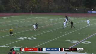 Boys' soccer highlights: Fitch 1, Waterford 0