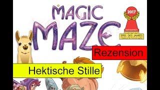 Magic Maze / Spiel des Jahres 2017 (Nominierung) /  Anleitung & Rezension / SpieLama