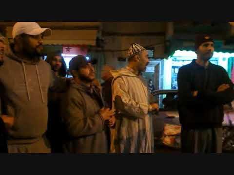 موكب الشموع في ذكرى المولد النبوي الشريف بحي الأندلس بالقصر الكبير
